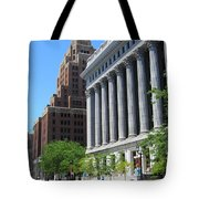 Gas Building And Nml Tall Tote Bag
