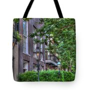 Gas Light Glow Tote Bag