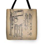 Gas Operated Semi-automatic Pistol Tote Bag