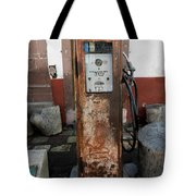 Gas Pump Color Tote Bag
