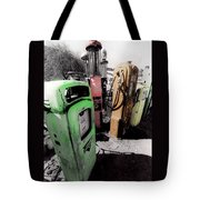 Gas Pump Grave 23 Tote Bag