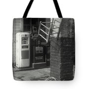Gas Station Abstract Tote Bag