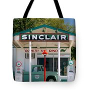 Gas Station And Truck Tote Bag