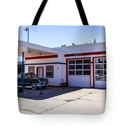 Gas Station Museum Tote Bag