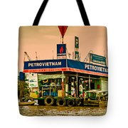 Gas Station Vietnam Style Tote Bag