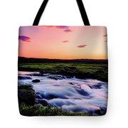 Gaski Waterfall, Grafarlandaa River Tote Bag