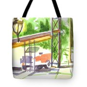 Gaslight At The Truck Stop Tote Bag