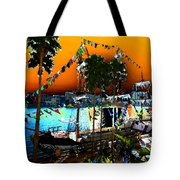 Gasparilla Sunset Tote Bag by David Lee Thompson
