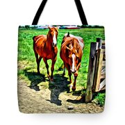 Gate Horse Tote Bag