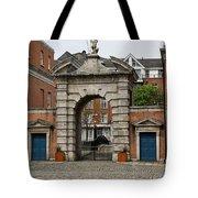 Gate Of Fortitude - Dublin Castle Tote Bag