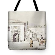 Gate Of The Vine , From Sketches Tote Bag