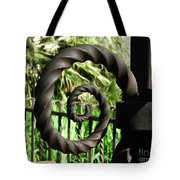 Gate Ornament 4 Tote Bag