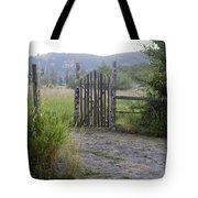 Gate To Peaceful Paradise Tote Bag