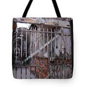 Gate To The Infirmary Tote Bag