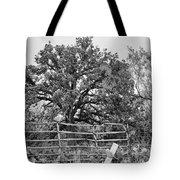 Gated Black And White Magic Tote Bag