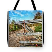 Gated Community Country Style Tote Bag