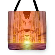 Vision Of Heaven Tote Bag