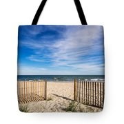 Gateway To Serenity Myrtle Beach Sc Tote Bag by Stephanie McDowell