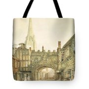 Gateway To The Close, Salisbury Tote Bag