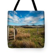 Gateway To The Mountains Tote Bag