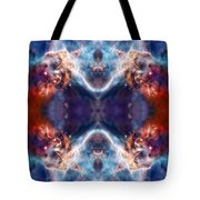 Gateway To The Universe - Carina Nebula Tote Bag