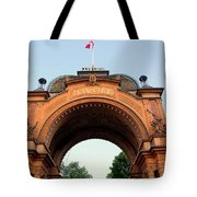 Gateway To Tivoli Gardens Tote Bag