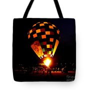 Gathering For Night Glow Tote Bag