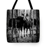 Gathering Of Moose Tote Bag