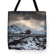 Gathering Winter Storm - Utah Valley Tote Bag