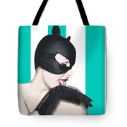 Sexy Catwoman Tote Bag