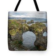 Gatklettur Arch In Hellnar Tote Bag