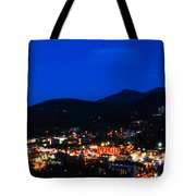 Gatlinburg Skyline At Night Tote Bag