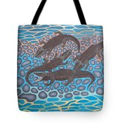 Gator Rock Tote Bag by Anthony Morris