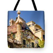 Gaudi Apartment Tote Bag