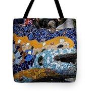 Gaudi Dragon Tote Bag