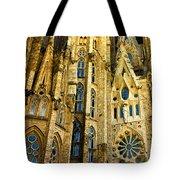 Gaudi - Sagrada Familia Tote Bag