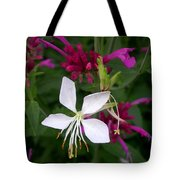 Gaura Lindheimeri Whirling Butterflies With Agastache Ava Tote Bag