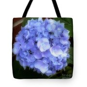 Gauzy Blues Tote Bag