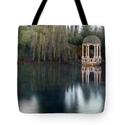 Gazebo And Lake Tote Bag