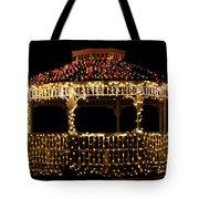 Gazebo Christmas Tote Bag