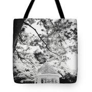Gazebo In Monochrome Tote Bag