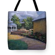 Gazebo In Potter Nebraska Tote Bag