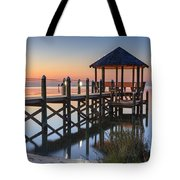Gently - Gazebo On The Sound Outer Banks North Carolina Tote Bag