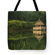 Gazebo Reflections Tote Bag