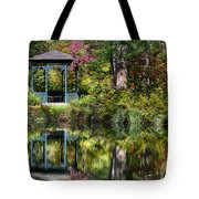 Gazebo Retreat Tote Bag by John Greim