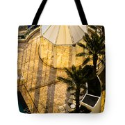 Gazebo Shadow Lines Tote Bag