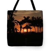 Gazebo Silhouette Tote Bag