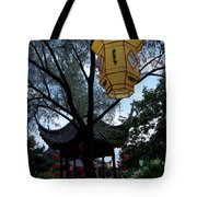 Gazebo With A Lantern Tote Bag