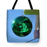 Gazing Ball Tote Bag