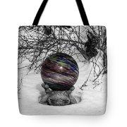 Gazing Ball Squared Tote Bag